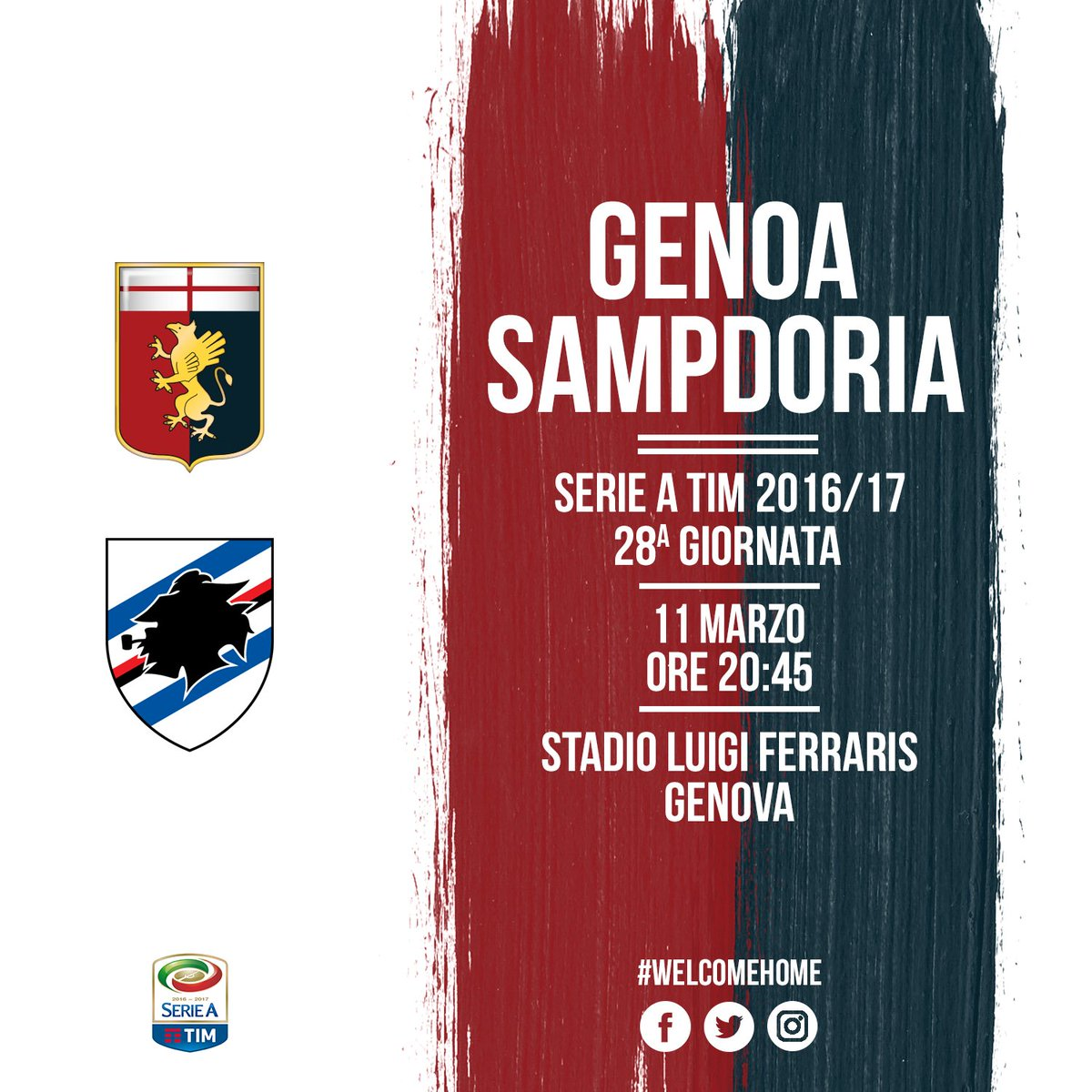 Vedere GENOA SAMPDORIA Streaming Online Rojadirecta ITA: alternative Diretta VIDEO Gratis