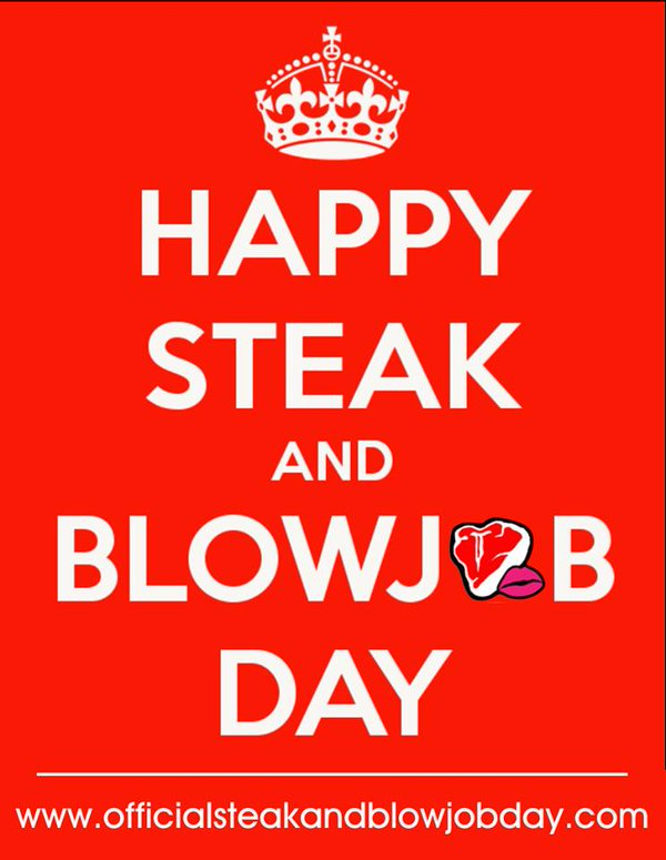 steak and blow Surely  this is North American rather than worldwide, and also Pi is not exactly 3.14?.