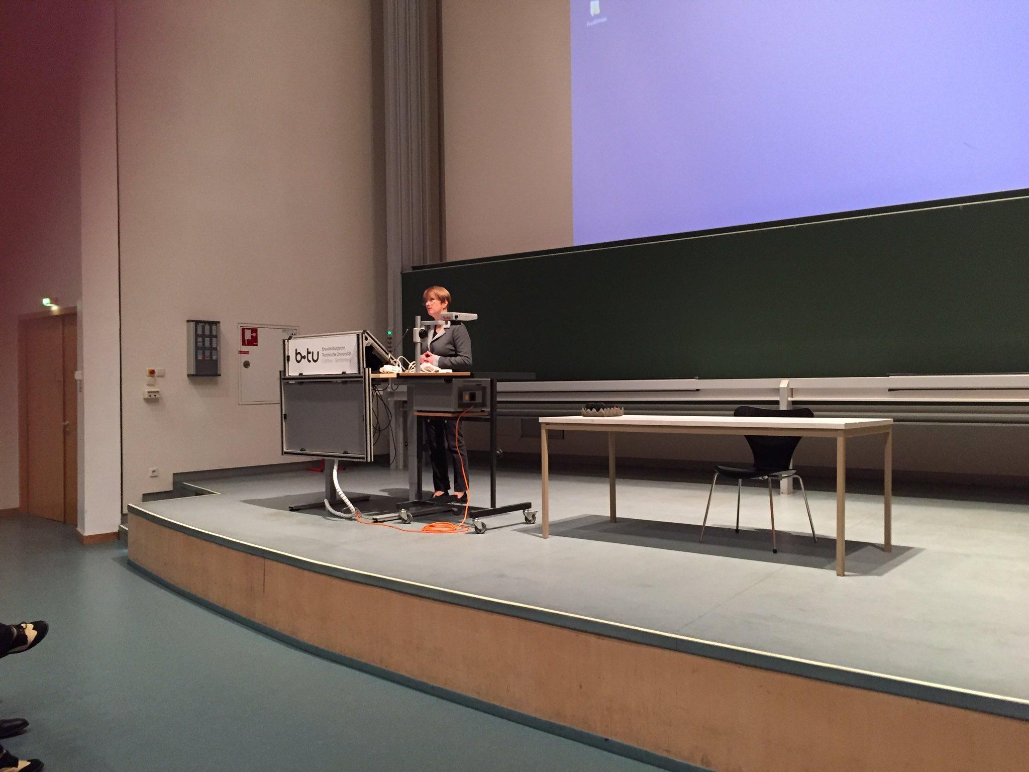 Beginn #tagbib17 mit Ministerin Münch https://t.co/5yt3KChaly