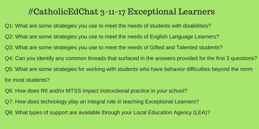 Questions for #CatholicEdChat at 8am CST with @pam_bernards https://t.co/6RrmK93IUr
