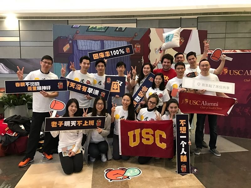 Representing @USCRossier for @USCAlumni of #SouthChina during the annual Volunteer Day in #Shenzhen. #FightOn! https://t.co/Vre7bv0CZl