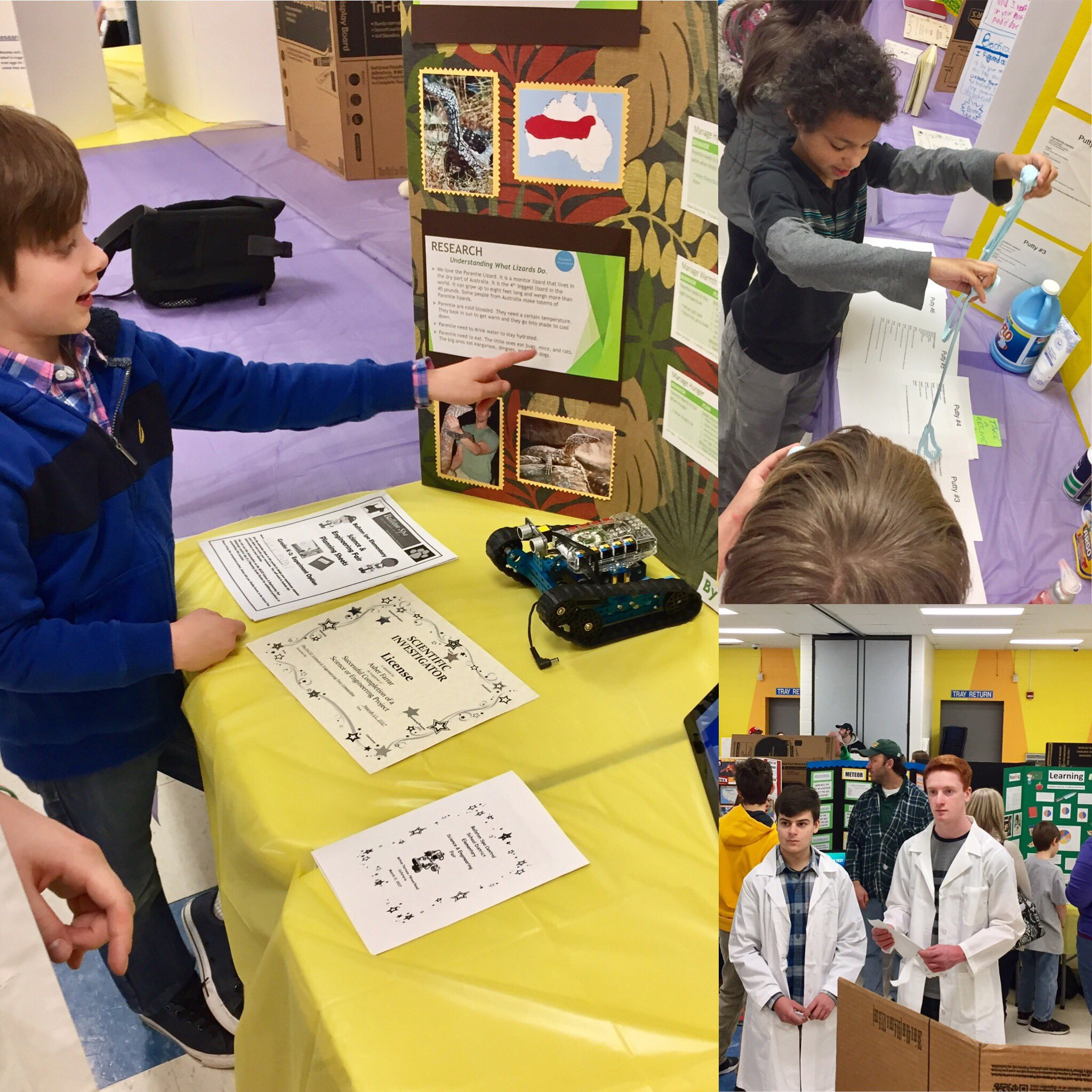 Great to see our youngest scientists presenting at the annual Science & Engineering Fair https://t.co/HXQD2vY7mz #BSCSD #STEM @CleanTechECHS https://t.co/Q4mf8QIQCX