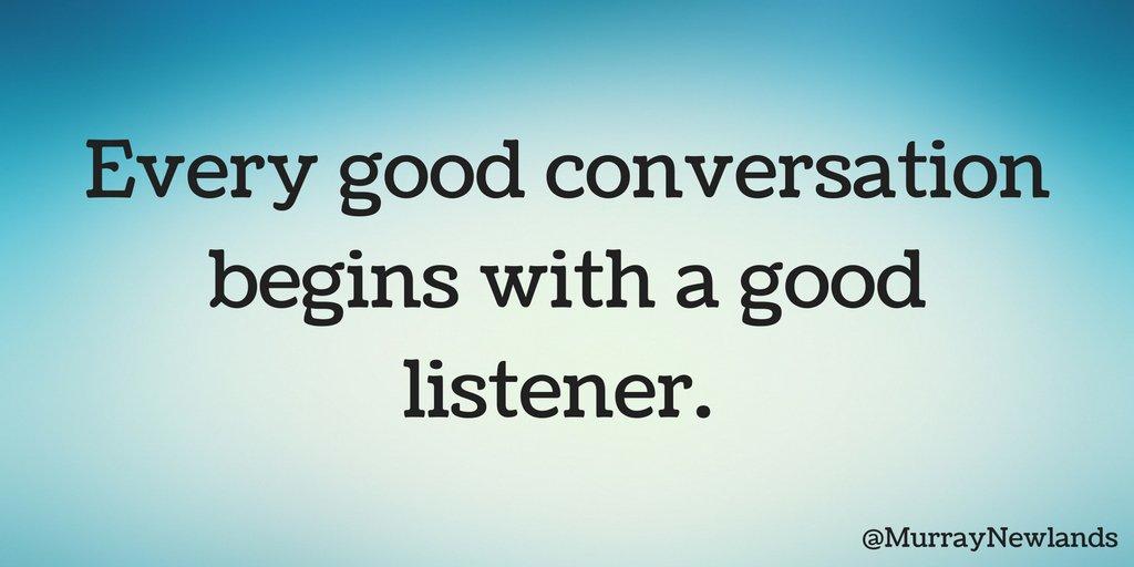 Whats a good conversation