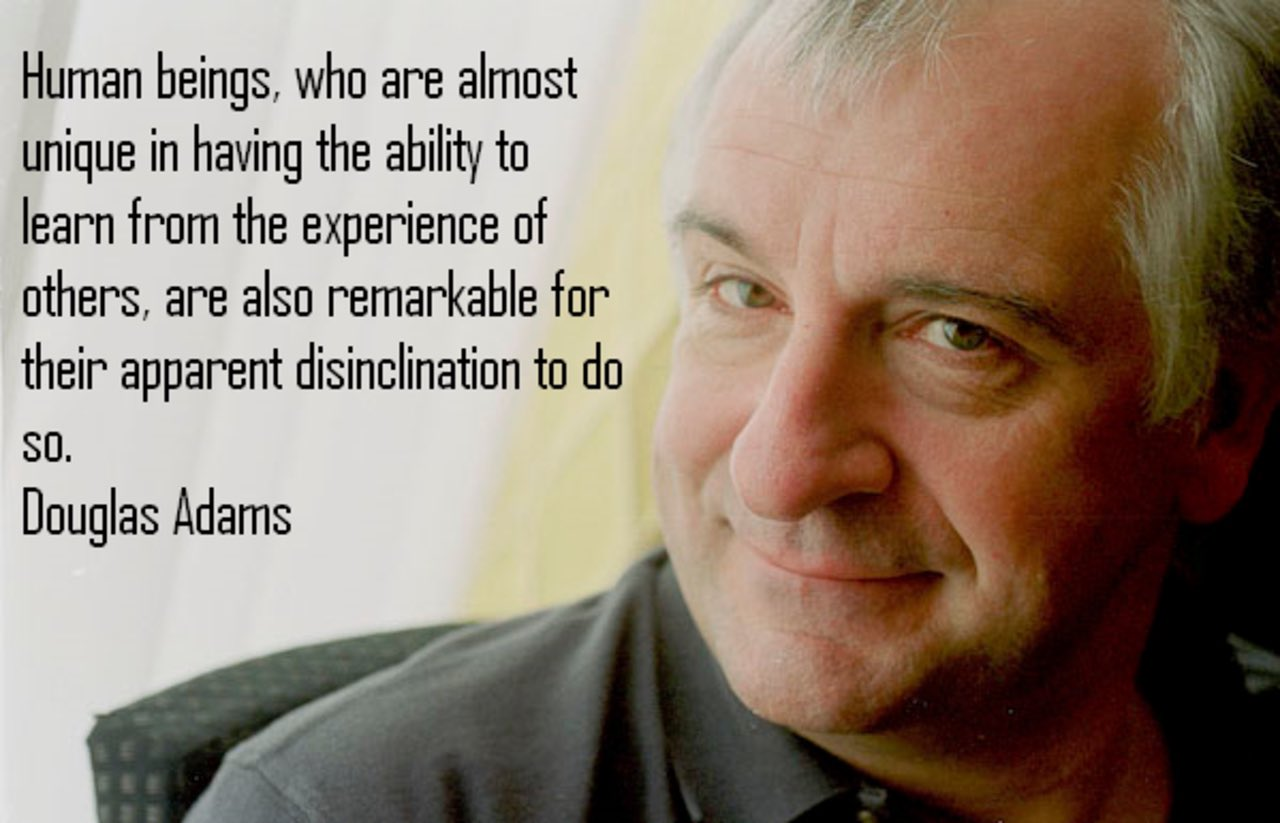 douglas adams australia essay Free hitchhiker papers, essays, and research papers commentary of the hitchhiker's guide to the galaxy by douglas adams - the hitchhiker's guide to the galaxy in the hitchhiker's guide to the galaxy there is absurdity, and unpredictable events on every page.