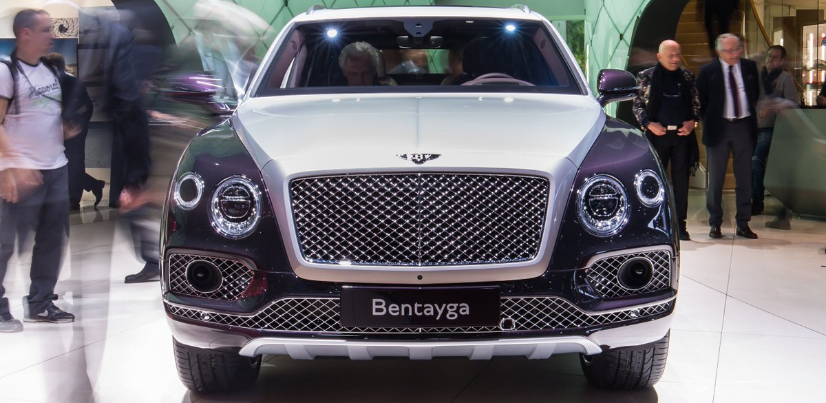 Meet the ultimate luxury SUV, #Bentayga #Mulliner at #GimsSwiss