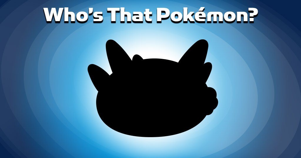 Can you guess… Who's that #Pokemon? https://t.co/OIrX8RVCjc