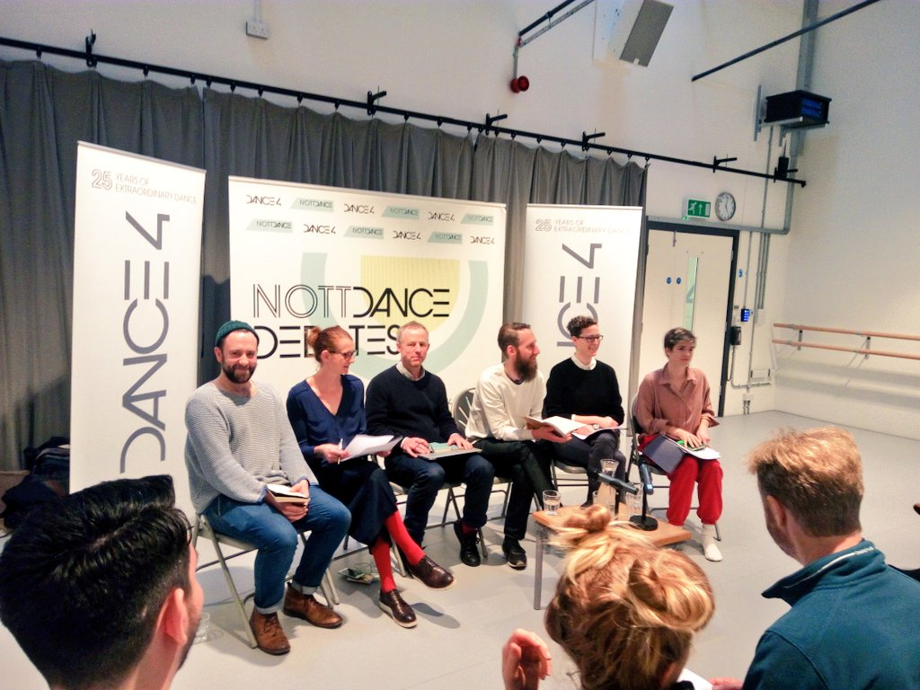 The third, and final #nottdance debate starts now w/ @katyecoe @mat_ches @charlimorrissey @FloraMWW & Gitta Wigro @matthias_sperl https://t.co/KOH5bV8r7B