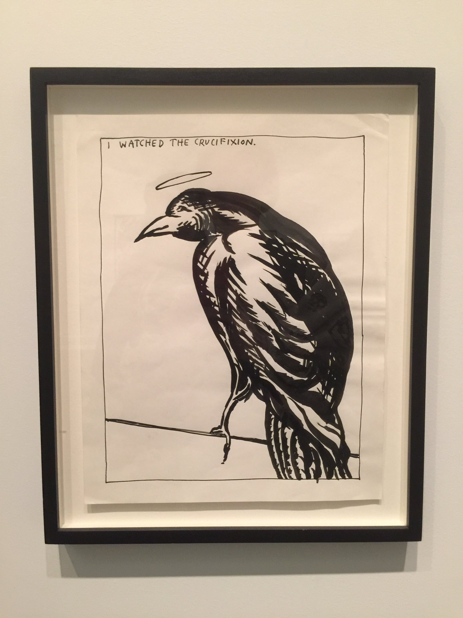 Raymond Pettibon. New Museum. NYC. If you can. You gotta go. https://t.co/NjISXNOITx
