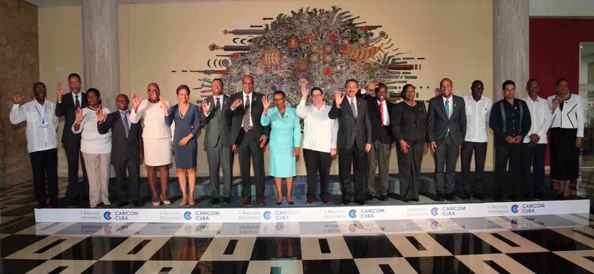 Declaración Final V Reunión de Ministros de Relaciones Exteriores CARICOM-Cuba