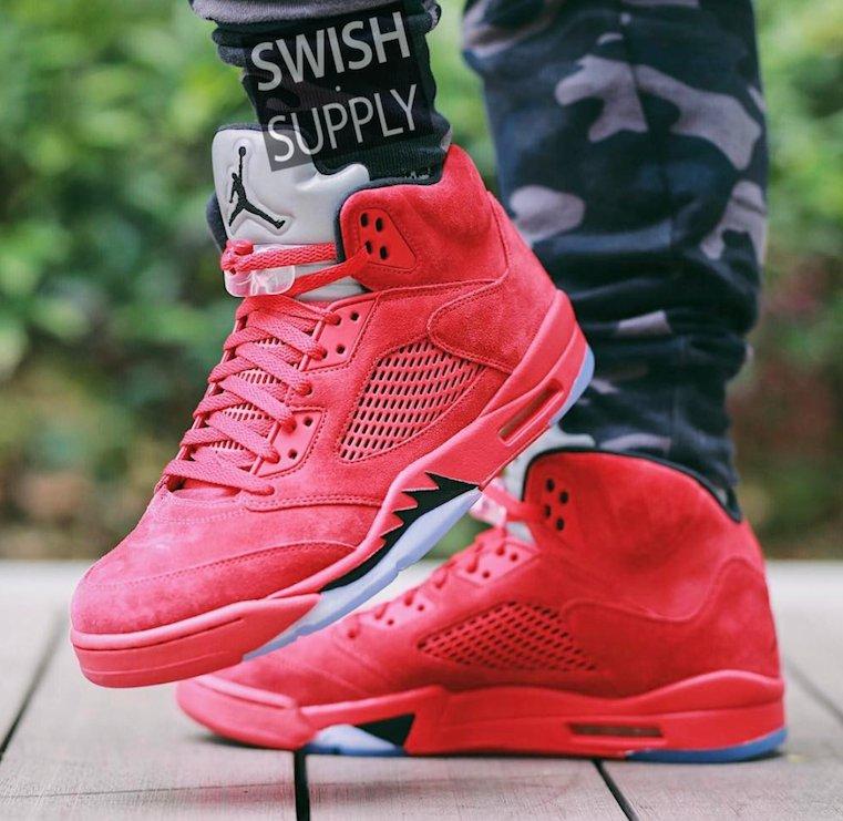 3ad251642402 On Foot Look at the upcoming Air Jordan 5