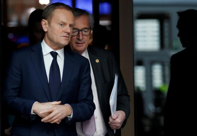 Poland says will 'play rough' with EU after Tusk vote