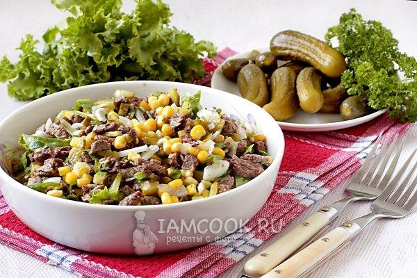 Рецепт салатов с шампиньонами