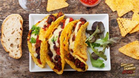 Skillet Fried Tacos