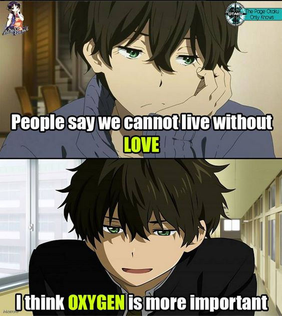 "Anime Funny Art On Twitter: ""People Say We Cannot Live"