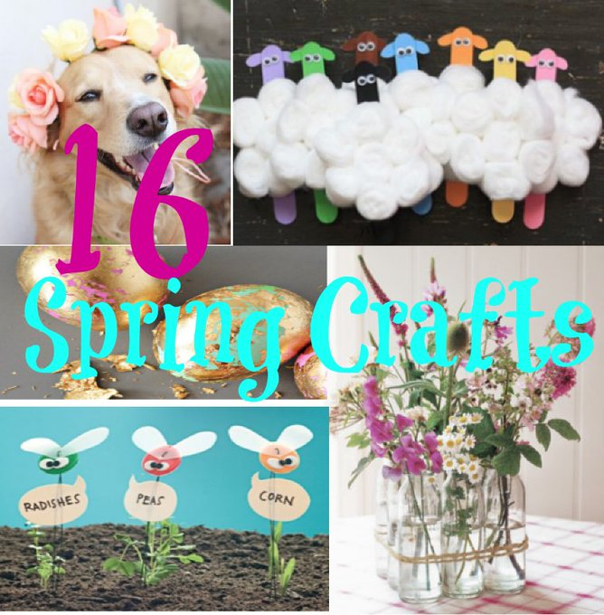16 Fun & Easy Spring Crafts for Kids and the Home! — Life of a Southern Mom