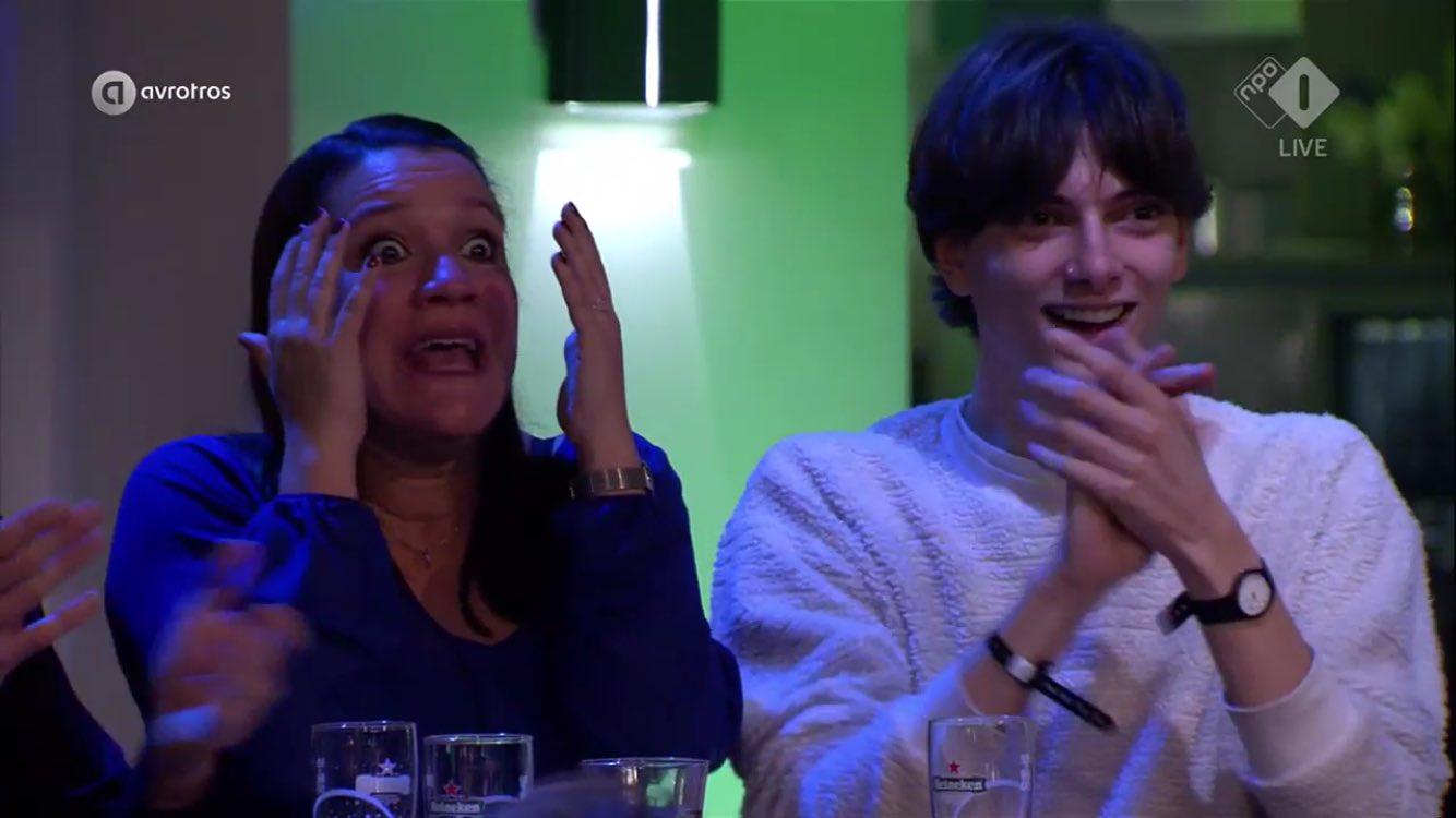 Nina de la Croix bij bekendmaking Thomas Cammaert als Mol - WIDM 2017