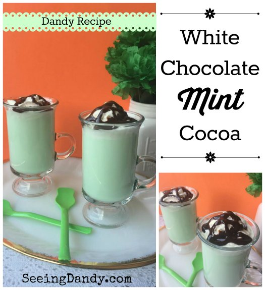 Saint Patrick White Chocolate Mint Cocoa Recipe