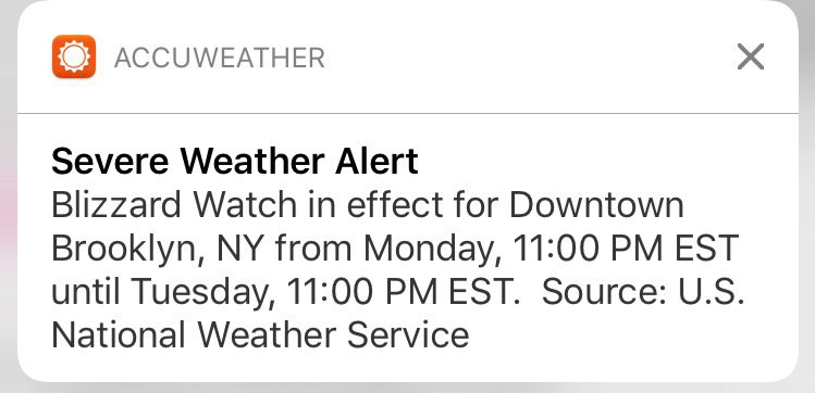 Allison Ryan On Twitter No Thank You It Was Just A - Accuweather brooklyn