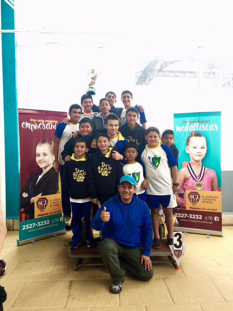 Selección de Natación, Colegio Don Bosco.