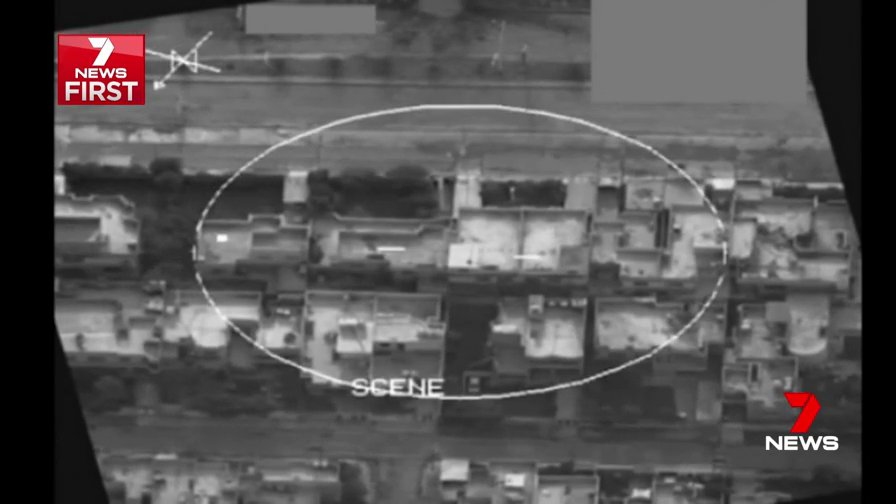 Australian RAAF airstrike on a building in Mosul al-Masarif geolocated