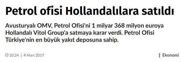 Hollandalı #PetrolOfisiniBoykotEdiyoruz  Herşeyin bir Sebebi var ! #EvetAvrupaTitriyor  #HollandadanNaziUygulaması