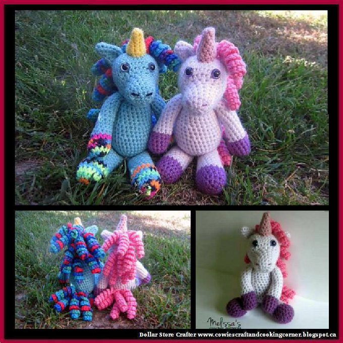 Annabelle The Unicorn (FREE PATTERN)