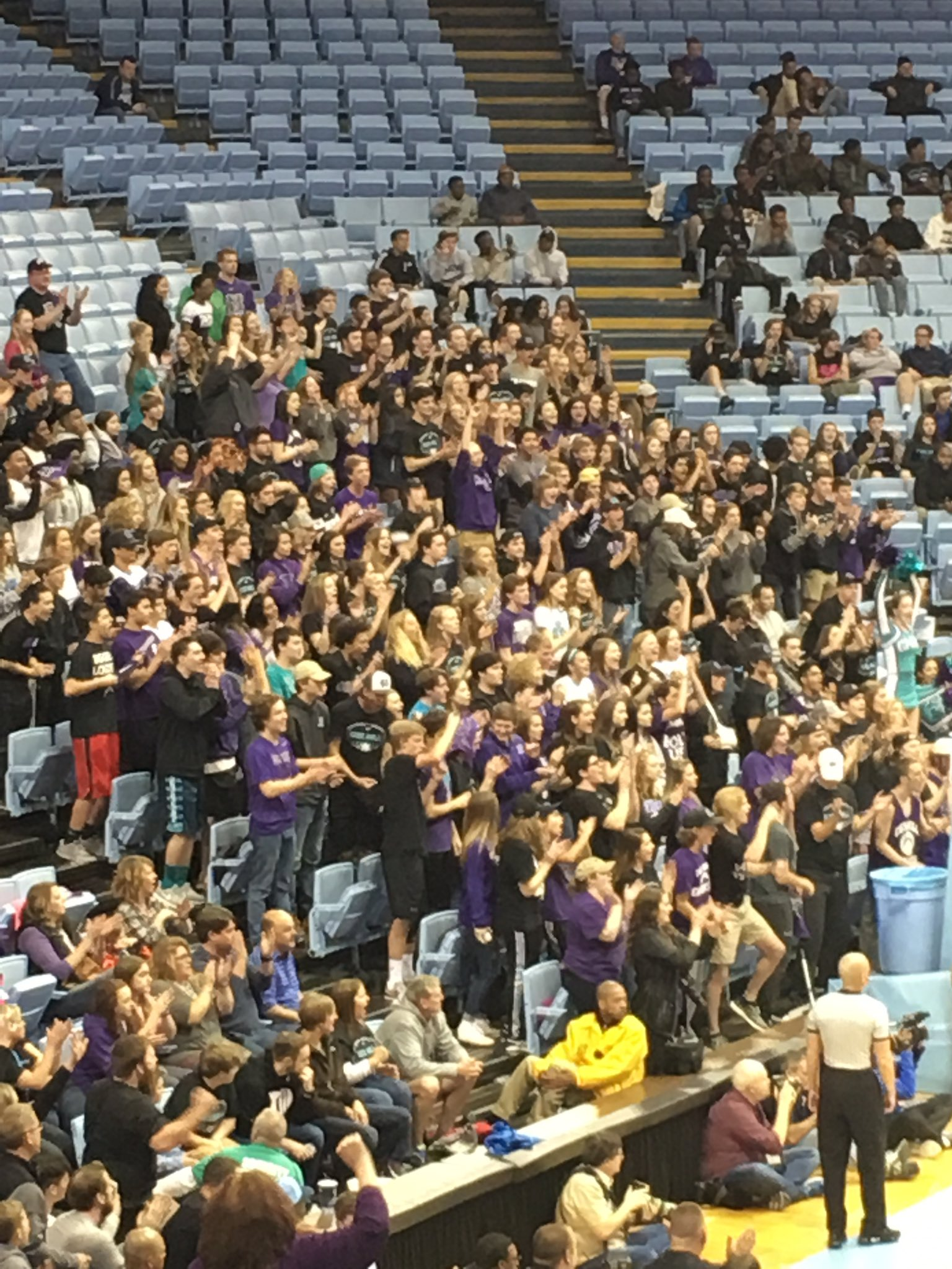 Way to represent Cox Mill student section! @CMManiacs @CMHS_Athletics @CoxMillHS https://t.co/NQvtkHeB0h