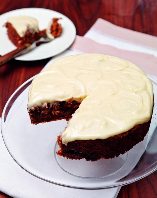 Carrot and walnut cake (gluten-free)