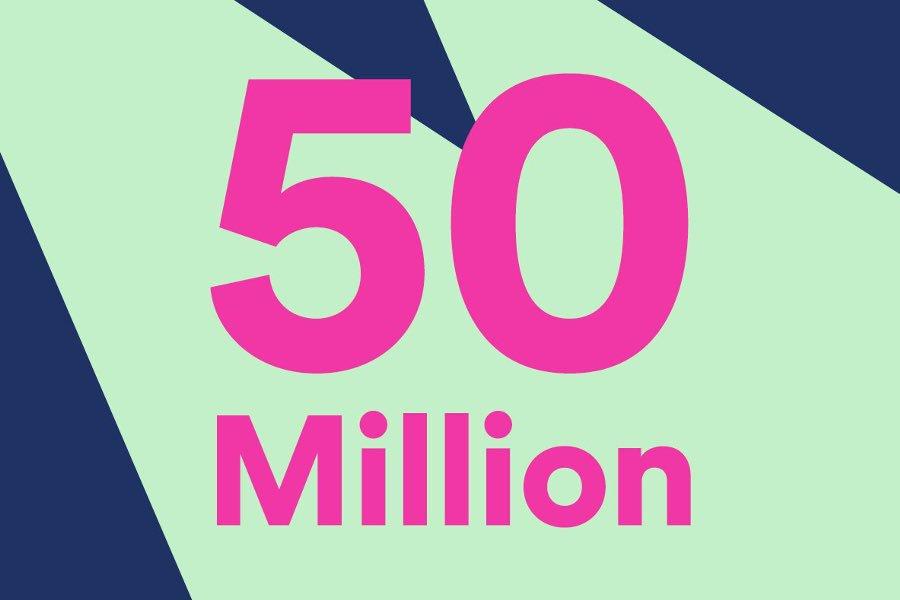 idfc 50 million streams on @spotify thank u trollcubs