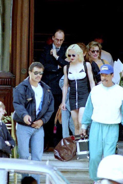 #Madonna while on her #BlondAmbition tour in 1990 <br>http://pic.twitter.com/HLeweJvaUR
