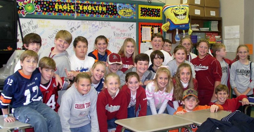 Since I shared my 1st NBCT class, I feel I must give a shoutout to the Hokes Bluff students I taught during my renewal in 2008! #ALNBCTweek https://t.co/OtkFnNPntM