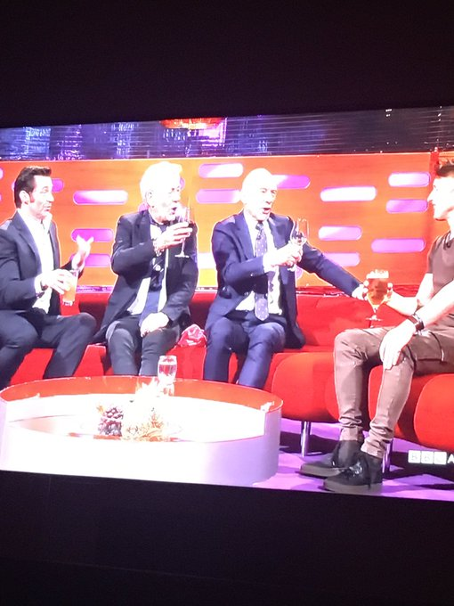 just saw your birthday appearance on graham norton show broadcast in USA ... happy birthday