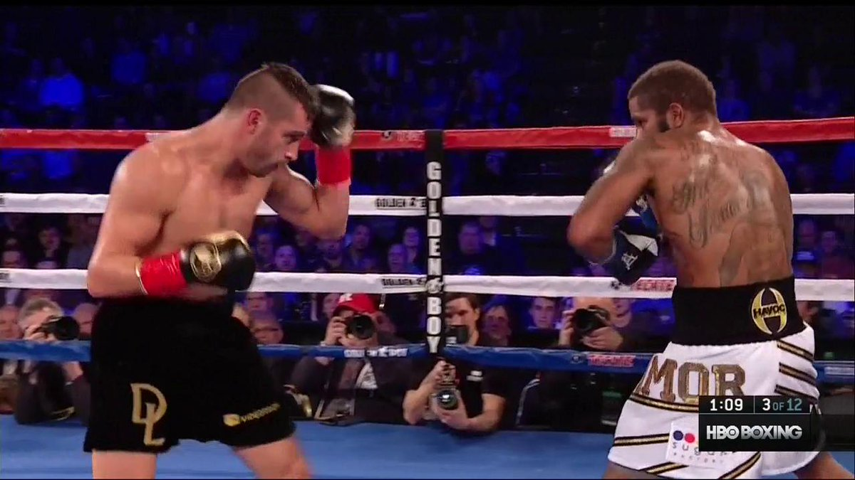 Lemieux knocks Stevens out cold in 3rd round