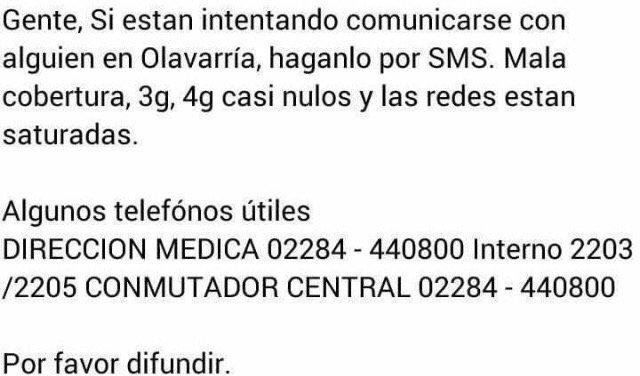 Algunos teléfonos útiles. Difundamos! #IndioEnOlavarria https://t.co/81lgarXLIf