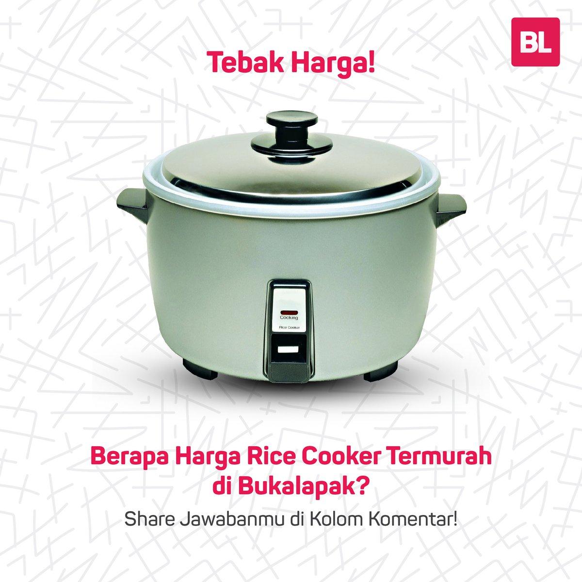 Bukalapak On Twitter Temukan Jawabannya Dengan Ketik Rice Cooker Di Kolom Pencarian Lalu Urutkan Produk Berdasarkan Harga Termurah