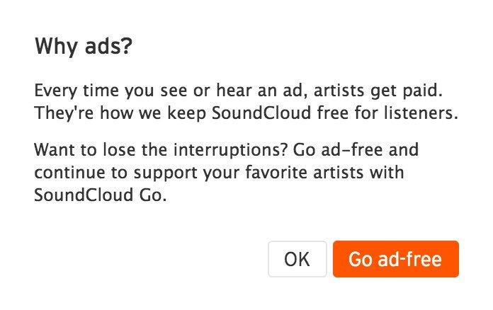 bare noize on twitter when you pay for a premium soundcloud