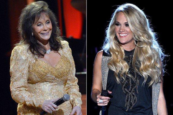 Carrie Underwood Got the \Best Present Ever\ From Loretta Lynn on Her Birthday