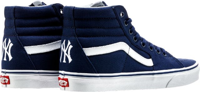 3e1063e2b7 Vans x mlb collection sk8-hi new york yankees mens sizes available now!!! -  scoopnest.com