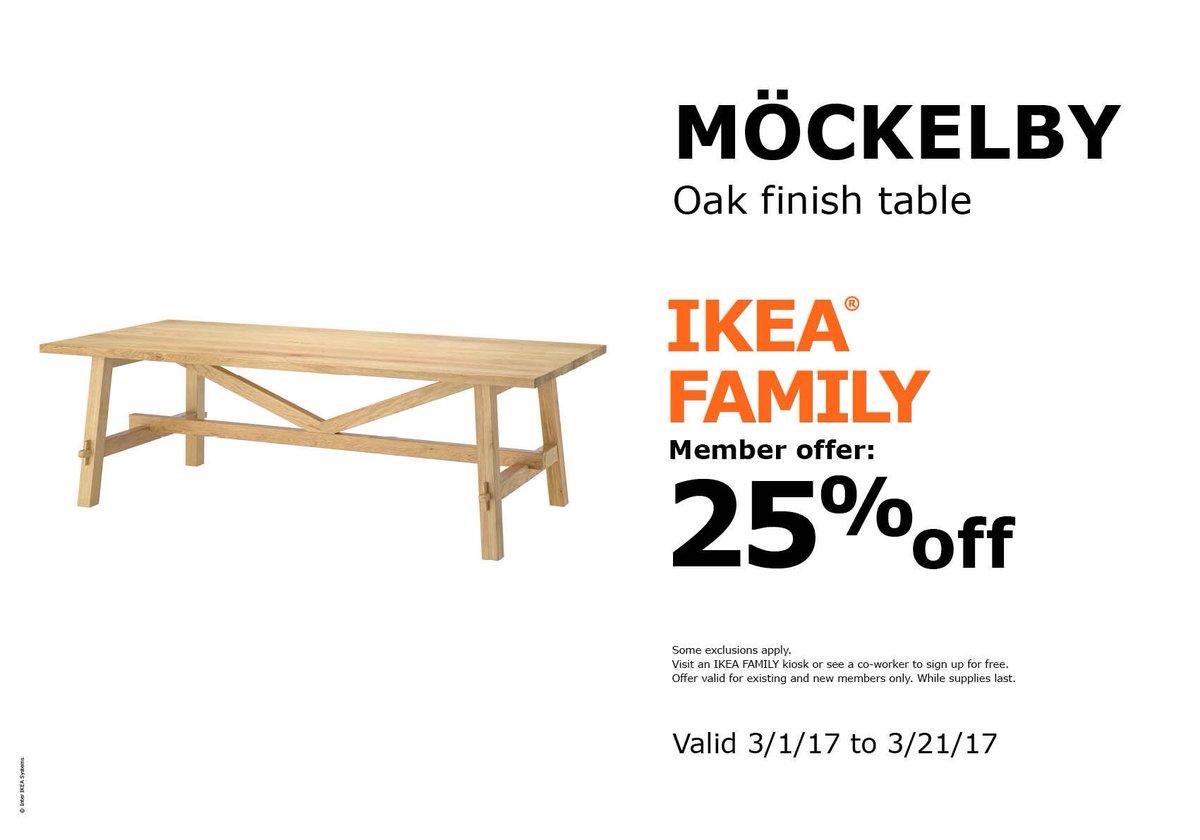 Ikea Las Vegas On Twitter Our Mockelby Oak Finish Tables Are 25