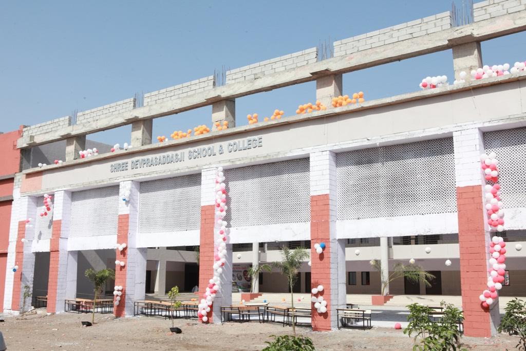 CM inaugurates new school-college building of  Swaminarayan Gurukul at Junagadh
