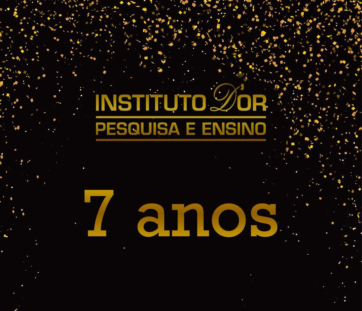 São 7 anos contribuindo para a evolução da sociedade, gerando novas descobertas e transformando ciência em conhecimento!