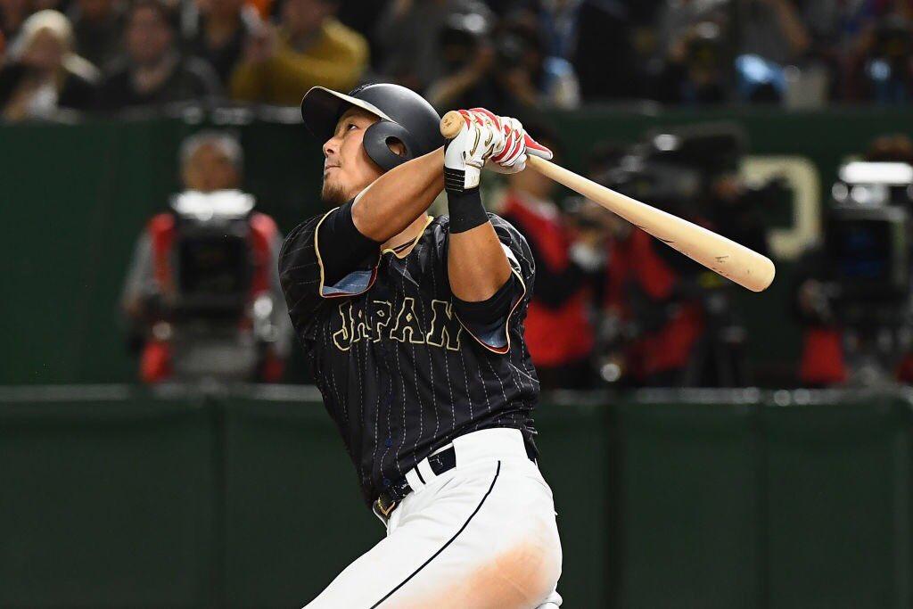 試合終了 2次ラウンド プールE オランダ 6-8 日本 中田選手は本日5打点!延長タイブレークの末、日本が勝利! japan-baseball.jp/score/game2017… #侍ジャパン #wbc2017