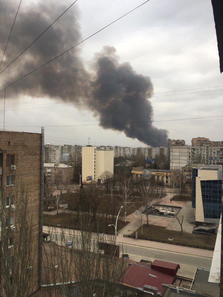 Пожар на Луганщине уничтожил 20 тонн зерна - Цензор.НЕТ 6601