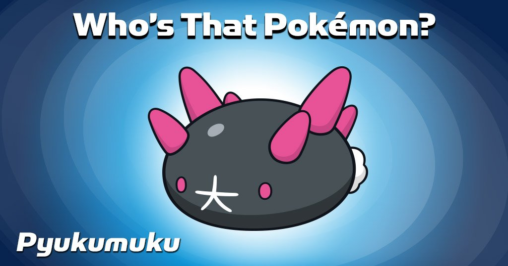 The answer to yesterday's 'Who's That #Pokemon?' is… Pyukumuku! Did yo...
