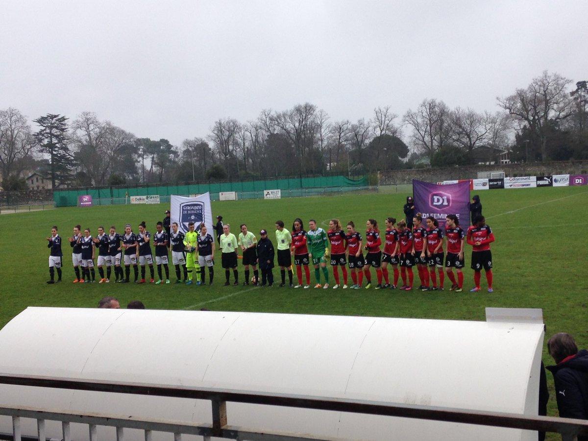 Merci @fcgbgirls pour le match ! Déçue pour la défaite #FCGBEAG #footfeminin<br>http://pic.twitter.com/ne0Vm13AQi