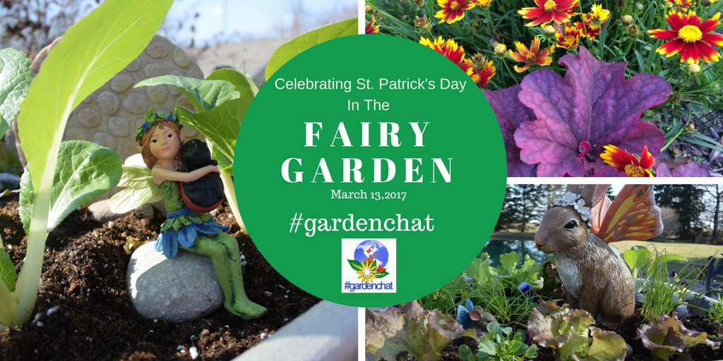 Celebrate #stpatricksday with us in the Fairy Garden on Twitter #GardenChat this week https://t.co/3eNIUJO3VE https://t.co/ykTczHDVza