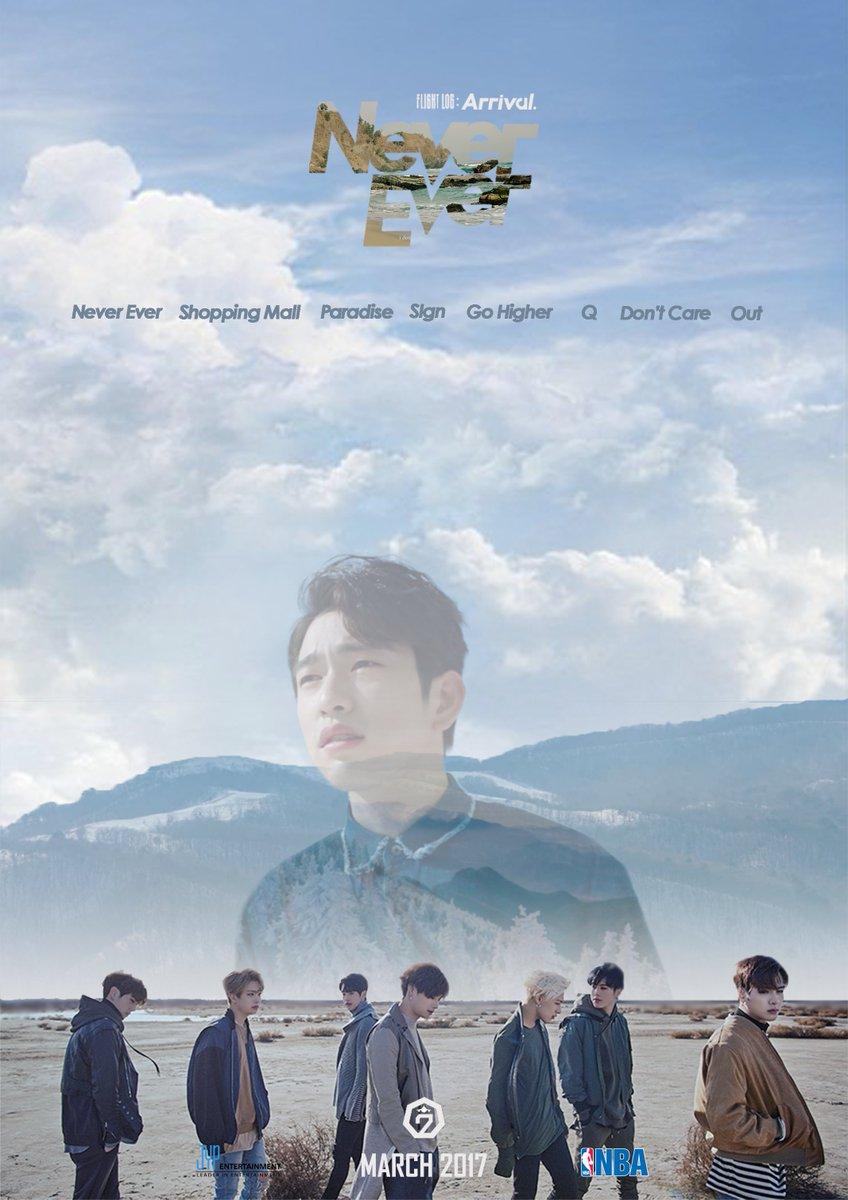Mita Yasella On Twitter EDIT GOT7 FLIGHTLOGARRIVAL NeverEver Poster Mark JB Jinyoung Jackson Youngjae Bambam Yugyeom HQ Link