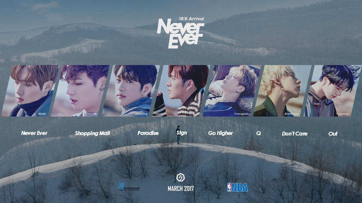 Mita Yasella On Twitter EDIT GOT7 FLIGHTLOGARRIVAL NeverEver