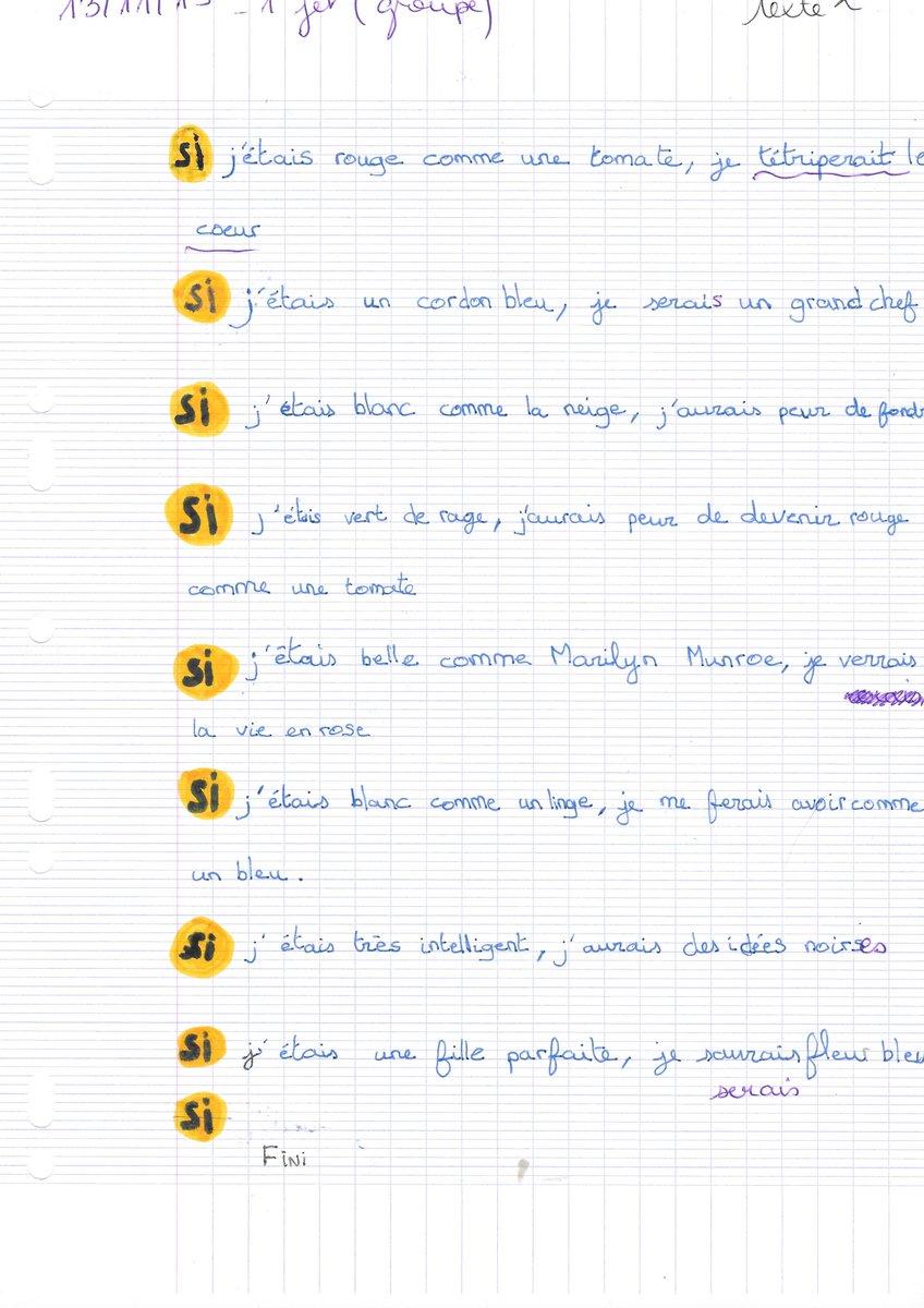 écrire Un Texte à Partir D Images - Exemple de Texte