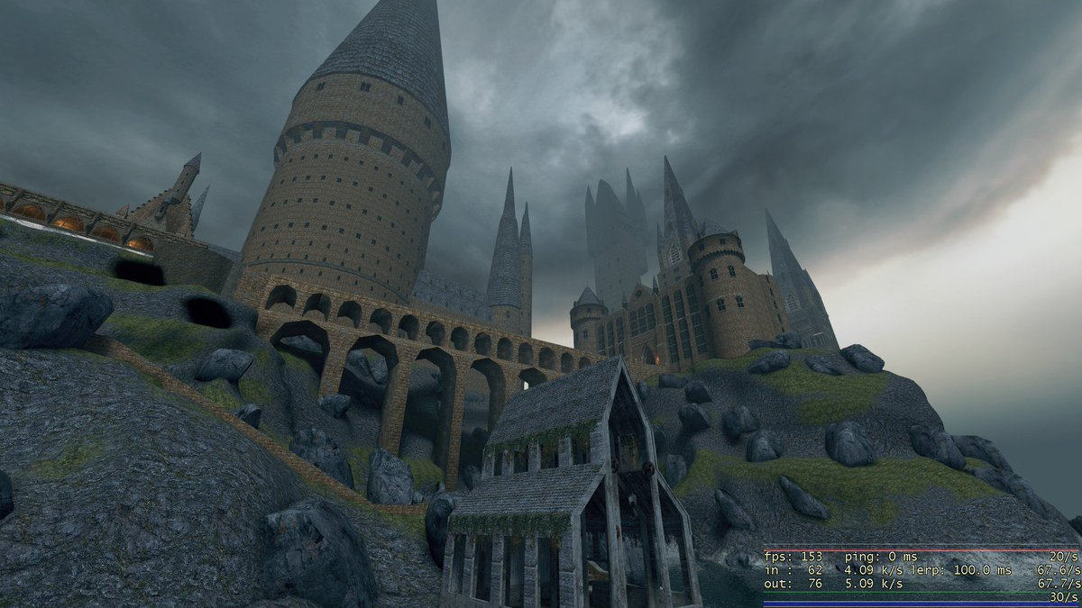 Image result for Gmod Hogwarts